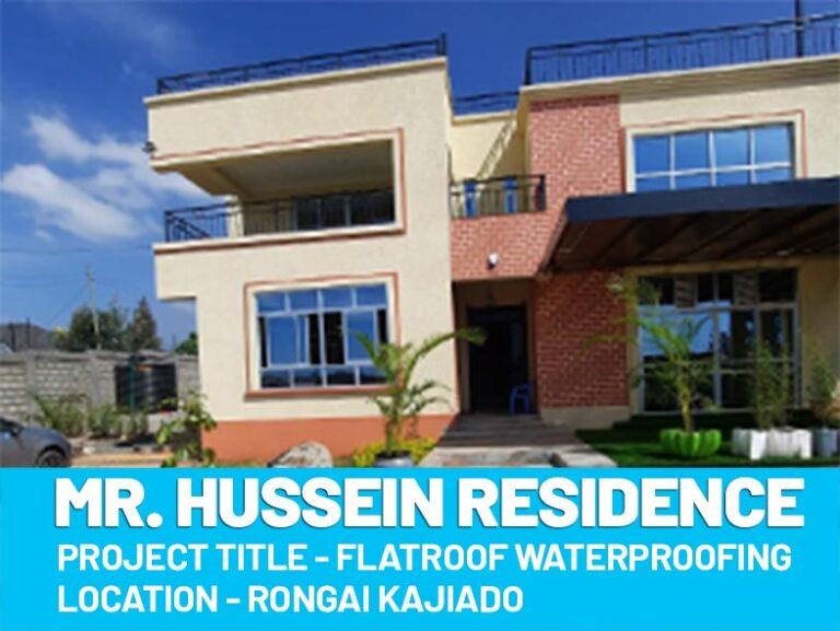 Mr. Hussein Residence